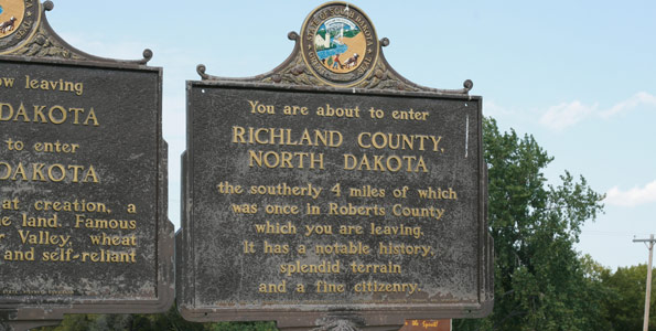 Richland County SD Sign
